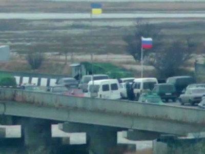 Украина не пропускает машины на границе под Белгородом