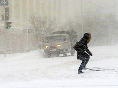 Якутию завалило снегом