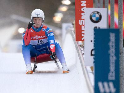 Саночник Репилов выиграл этап Кубка мира в США