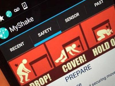 """Мобильный сейсмометр MyShake доказал свою """"профпригодность"""""""