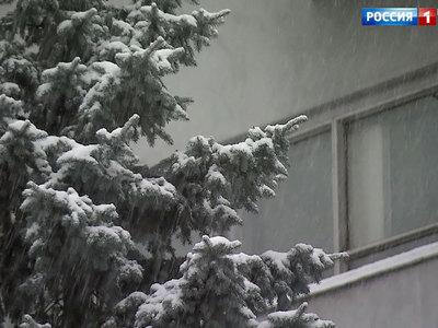 В столице ожидается снег и небольшое потепление