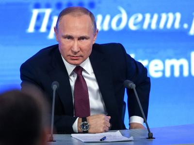 Большая пресс-конференция Владимира Путина состоится 14 декабря