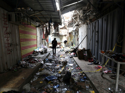 Теракт в центре Багдада унес жизни 6 человек