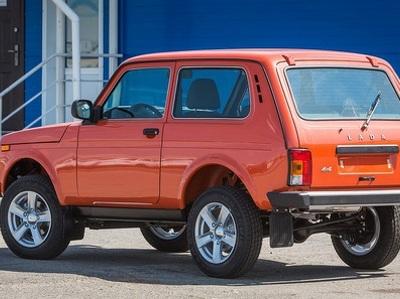 Lada 4x4 готовят к легкому рестайлингу