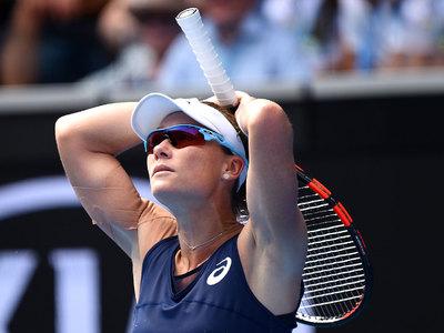 Australian Open. Неожиданное фиаско хозяйки кортов Саманты Стосур