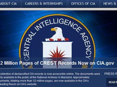 ЦРУ рассекретило 13 миллионов страниц