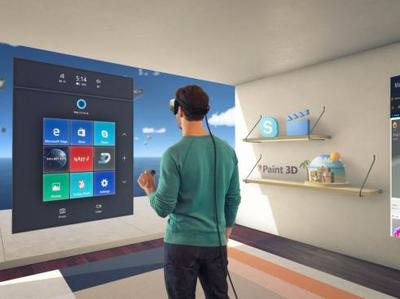 """Поставки VR-шлемов для """"голографической"""" Windows начнутся в марте"""