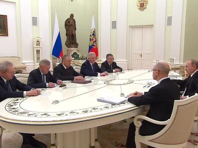 Путин: ротация губернаторов - естественный процесс