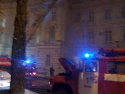 Пожар в детской больнице в Твери локализован