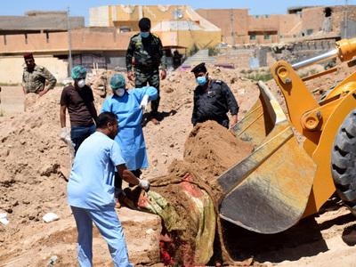 Найдена могила с 50 иракскими военными и полицейскими