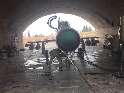 Сирийская авиация переброшена ближе к российской авиабазе