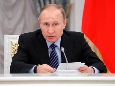 Путин поздравил военнослужащих с Днем пограничника