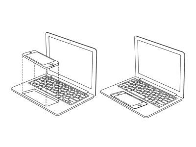 """Патент Apple описывает превращение """"макбука"""" в док-станцию для iPhone"""