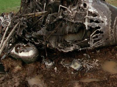 Крушение Ми-2 в Донбассе: силовики погибли