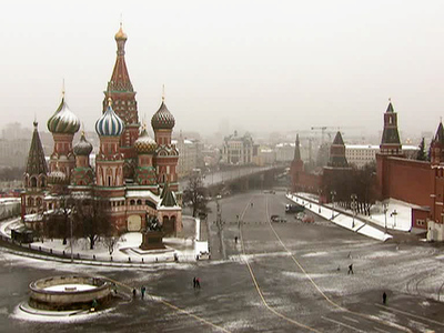 Майская аномалия: Москву засыпало густым снегом