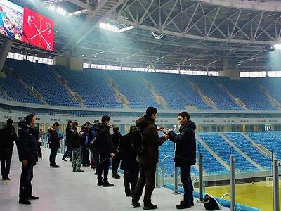 Матчи чемпионата Европы по футболу пройдут в Санкт-Петербурге