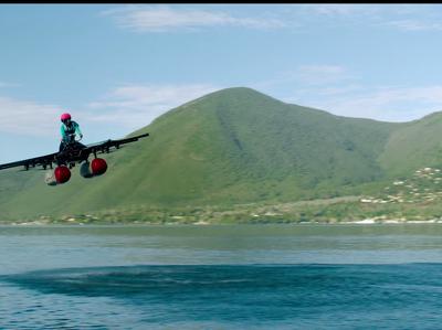 """Стартап основателя Google показал прототип """"летающего автомобиля"""""""