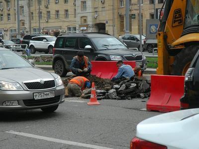 Ремонтировать центр Москвы будут еще 2-3 года