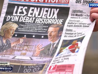 Борьба противоположностей: французы замерли в ожидании дебатов