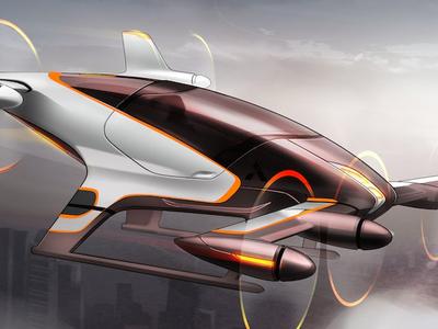 """Полет на """"аэромобиле"""" Airbus будет не дороже поездки в такси"""