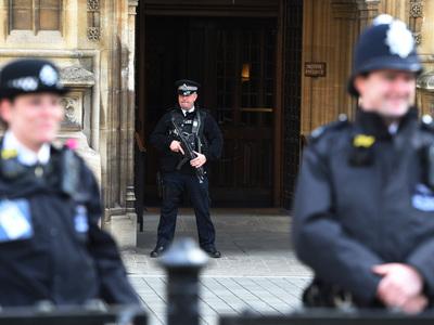 В Лондоне полиция перекрыла движение на Вестминстерском мосту