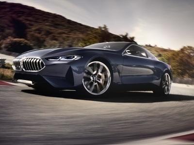 Компания BMW представила предвестника  купе 8 серии