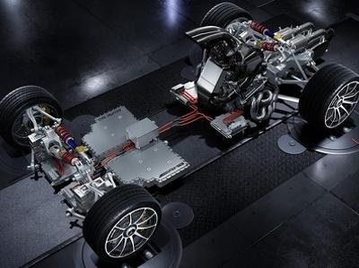Mercedes-Benz показал силовую установку своего гиперкара