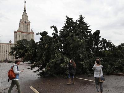 Ураган унес 16 жизней в столичном регионе
