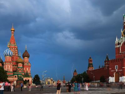В Москве вновь объявлен желтый уровень опасности