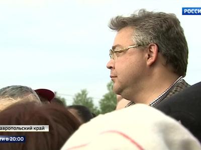 Выполняя поручение Путина: глава Ставрополья приехал в село Краснокумское