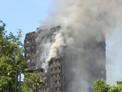 Пожар в Лондоне: 41 человек до сих пор в списках пропавших без вести