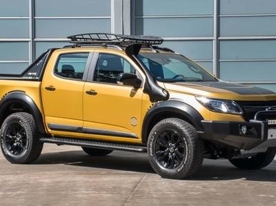 Chevrolet подготовила небольшой пикап к латиноамериканскому бездорожью