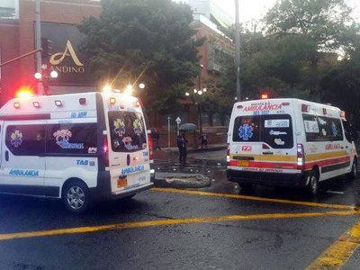 В популярном торговом центре в Боготе произошел взрыв