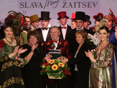 Дом моды Вячеслава Зайцева отмечает 35-летие