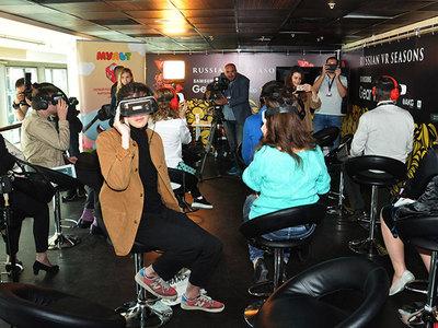 """Гости ММКФ оценили первый виртуальный кинотеатр """"Мульт VR"""""""
