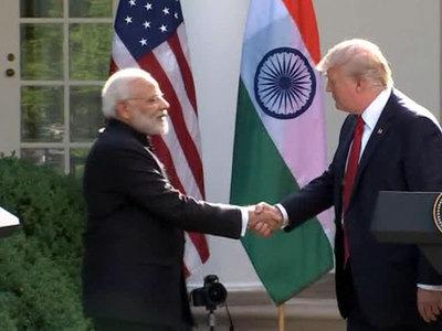 Нарендра Моди пригласил Трампа с семьей в Индию