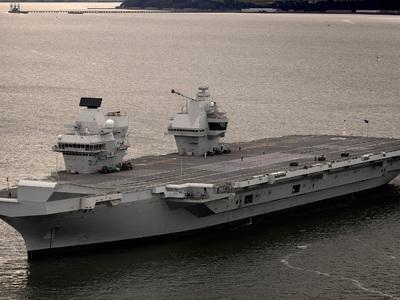 Взломать королеву. Крупнейший британский корабль может быть уязвим для хакеров