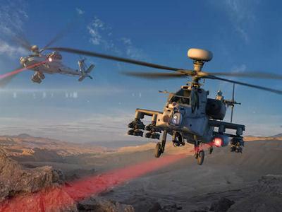 Лазерная лихорадка. В США лучевое оружие поставили даже на вертолет