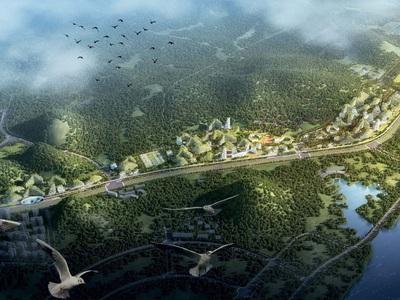 """Первый в мире """"город-лес"""" появится в Китае"""