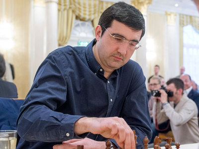 Шахматы. Крамник, Федосеев и Андрейкин играют в Дортмунде