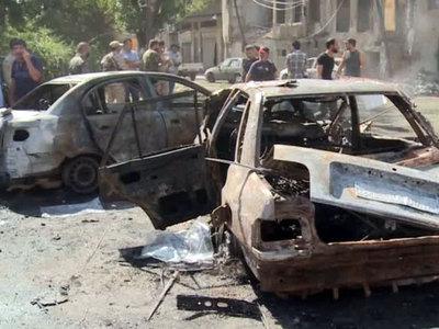 Число жертв взрыва в Дамаске выросло до 20