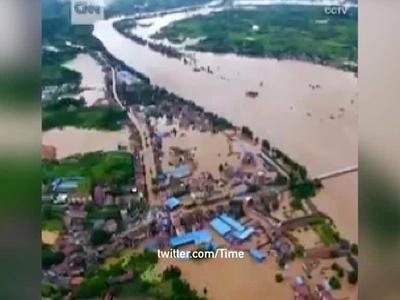 83 человека стали жертвами наводнения в Китае