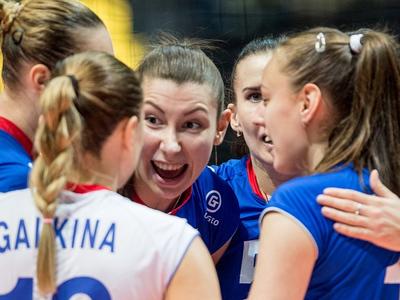 Российские волейболистки обыграли хозяек финала Гран-при