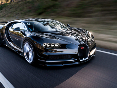 Рассекречены данные о расходе топлива Bugatti Chiron