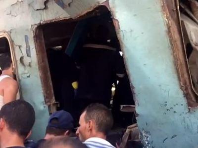 44 погибших: поезда в Египте столкнулись из-за невнимательности