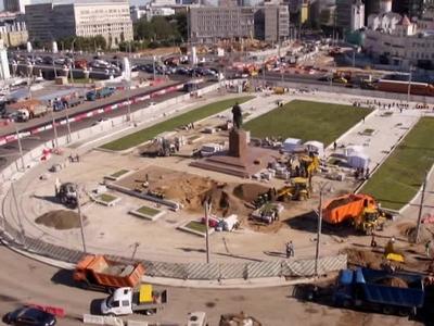 Собянин пообещал бесшумные трамваи на площади Тверской заставы