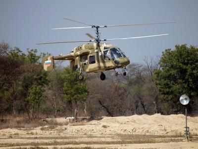 Российский вертолет выдержал испытание экстремально высокой температурой