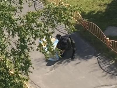 Резня в Сургуте: видео с места событий