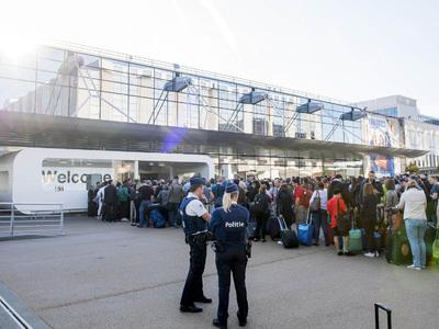 Бастующие грузчики парализовали аэропорт Брюсселя
