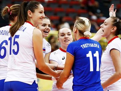 Волейбол. Сборная России узнала соперниц по чемпионату мира